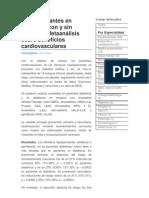 Hipolipemiantes en Pacientes Con y Sin Diabetes