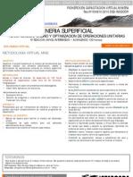 Mineria superficial - planificacion, diseño y optimizacion de operaciones unitarias