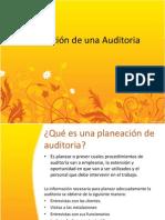 Planeación de una Auditoria