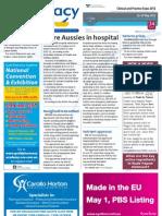Australians in hospital, Votrient, Reform, Phebra and much more...