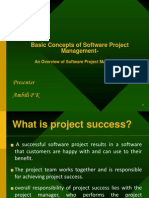 Basic Concepts of Software Project Management