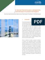 Recursos Financeiros Parques Tecnologicos