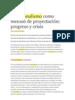Jose Maria Montaner+Racionalismo y Funcionalismo