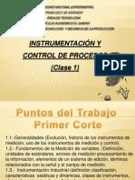 Clase 1 instrumentacion