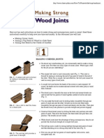 Making Strong Wood Joints