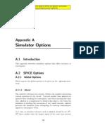 Designers Guide Simulator Options