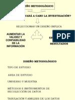 Diseno Metodologico y Tipos