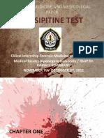 Precipitine Test