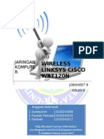Laporan9 E1 Fauziah Wireless Linksys Cisco