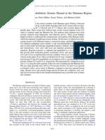 Reassessment of PSH in the Marmara - Kalkan et al.