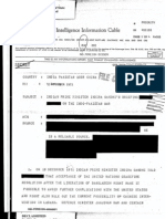CIA on Indira's Briefing