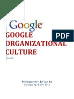 Google Culture SLIDE