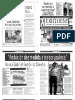 Versión impresa del periódico El mexiquense 3 mayo 2012