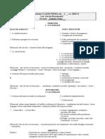 Programmazione CLASSE PRIMA 2011 - 12
