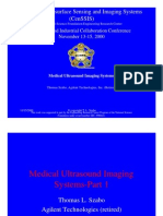 Medical Ultrasound Imaging Systems