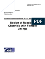 Design of Roadside Channels