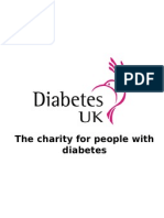 Diabetes UK Awareness Talk - Jun 2011