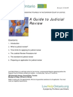 A Guide to Judicial Review