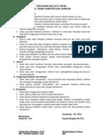 Peraturan Dan Tata Tertib Lab