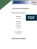 Point Method Job Evaluation Example
