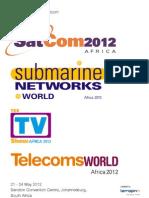 Satcom 2012 Brochure