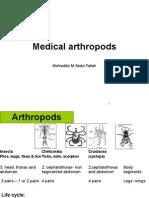 Medical Arthropods Pharmacy 2012