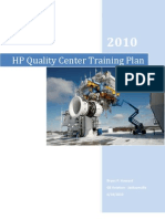 Management and Implementation - HP QC Project Plan