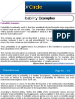 Probability Examples