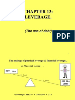 Real Estate - Effect of Leverage
