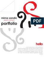 Examples of Design Portfolio PDF | Portable Document Format