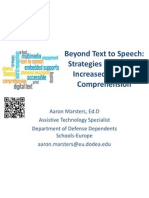 assistive technology and reading
