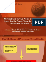 Convention on Global Health