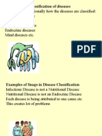 Conventional Classification of Diseases