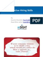 Effective Hiring Skills - Xcellon