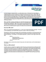XML Factsheet