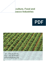 Agriculture, Food and Tobacco Industries