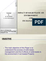 Solid Waste Management Slide Show
