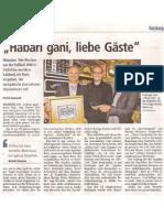 Habari gani, liebe Gäste - Nachbericht zum Afrika-Preis in den Salzburger Nachrichten