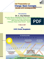 Climate Change Science Policy Atiq BCAS