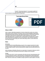 CRM Group Paper