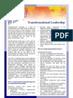 Transformation Leadership