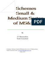 Suggested innovative Schemes for SME Industry