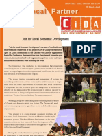 March/April E-newsletter of the Civil Development Agency (CiDA)