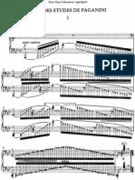 Liszt - S.141 Grandes Etudes