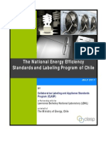 National EE S&L Program of Chile - Review