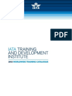 IATA 2012 Training Catalogue