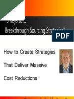 5 Keys to Sourcing Strategies