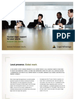 Legal Advantage, LLC Corporate Brochure