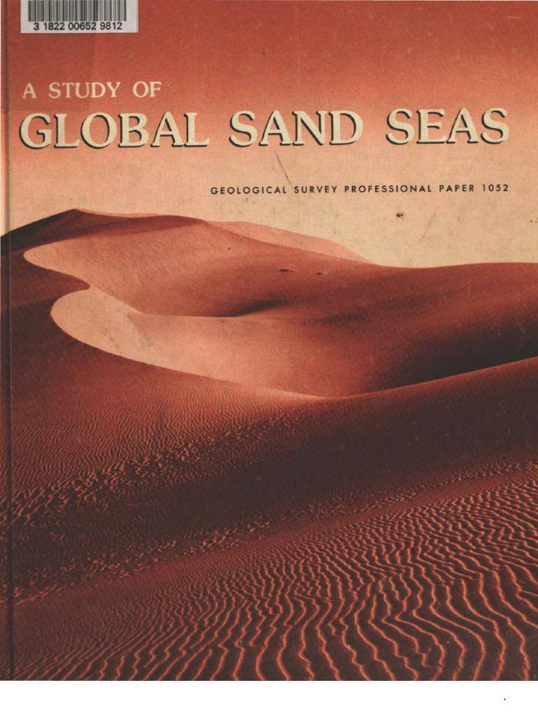 Study of Global Sand Seas McKee | Dune | Sedimentology