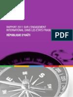 OCDE, Rapport 2011 sur l'engagement international dans les États fragiles